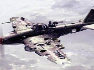 ИЛ – 2 возвращение с боевого задания