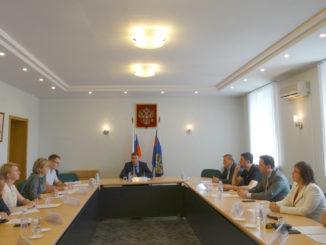 Состоялось заседание Общественного совета при прокуратуре Челябинской области по защите малого и среднего бизнеса