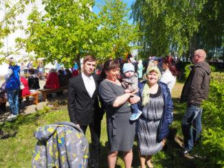 На праздник славянской письменности – всей семьей
