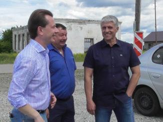 Владимир Бурматов, Анатолий Титов, Игорь Колышев