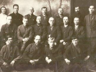 Участники гражданской войны г. Касли в конце 30-х годов