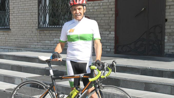 Заядлый тюбукский велогонщик – бронзовый призер