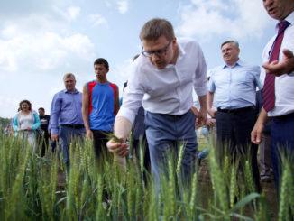 На ежегодной сельскохозяйственной выставке «День поля»