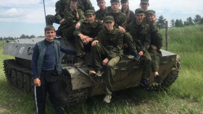 Команда Тюбукской школы №3 «Победоносцы»