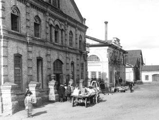 Комплекс цехов каслинского завода первой половины ХIХ века