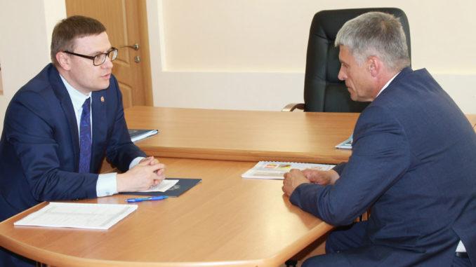Алексей Текслер и Игорь Колышев
