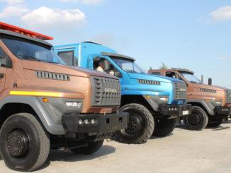 Автомобили «Урал» показали мощь и надежность