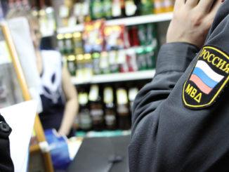 Борьба с «левым» алкоголем