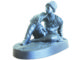 Статуэтка «Сидящий черкес», выполненная в чугуне. При создании копии скульптор имела перед собой старинную бронзовую отливку