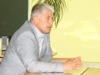 Игорь Владиславович Колышев с жителями села Григорьевка