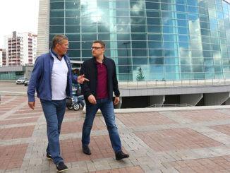 встреча врио главы Башкортостана Радия Хабирова и врио губернатора Челябинской области Алексея Текслера