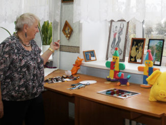 Лидия Андреевна Шевцова рассказывает о выставке