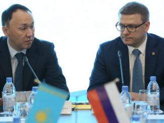 Губернатор Челябинской области с однодневным визитом посетил Республику Казахстан