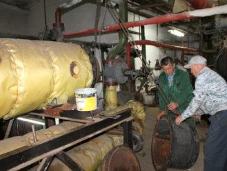 В рамках подготовки к зиме, на котельной поселка Береговой отремонтировали бойлер