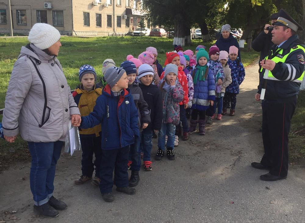 Воспитанники детского сада №8 «Орленок» на практическом занятии