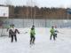 Каслинские полицейские победили своих подшефных в игре на валенках
