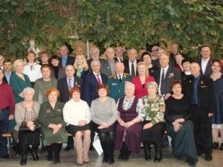 Участники торжественного пленума, посвященного 55-летию ветеранской организации Каслинского района