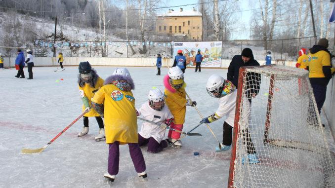 Хоккейные баталии. Вишневогорск, декабрь 2018 г.