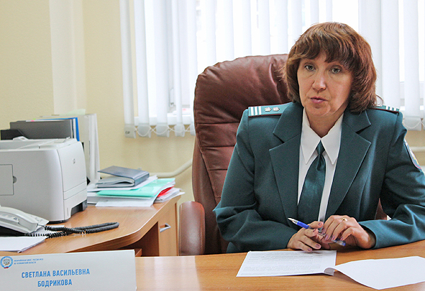 Светлана Васильевна Бодрикова (Фото с сайта: 2018.np-vesti.ru)