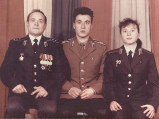 Абдукаюмовы – Хамид, глава семейства, сын Олим и дочь Гульнара