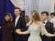 Анна Харина и Андрей Конников, Анна Мелешко и Евгений Голунов танцуют падеспань