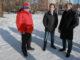 Кирилл Калинин, тренер хоккейной команды, Владимир Бурматов, депутат Госдумы, Игорь Колышев, глава КМР