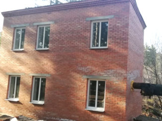 Здание песколовки п. Вишневогорск