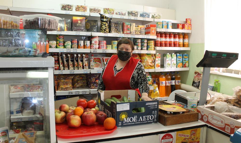Помещение магазина в поселке Пригородный работает и люди довольны