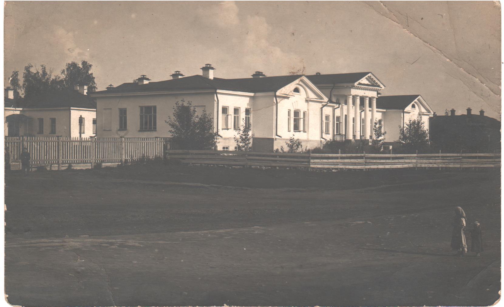Госпиталь. Фото ХХ в.