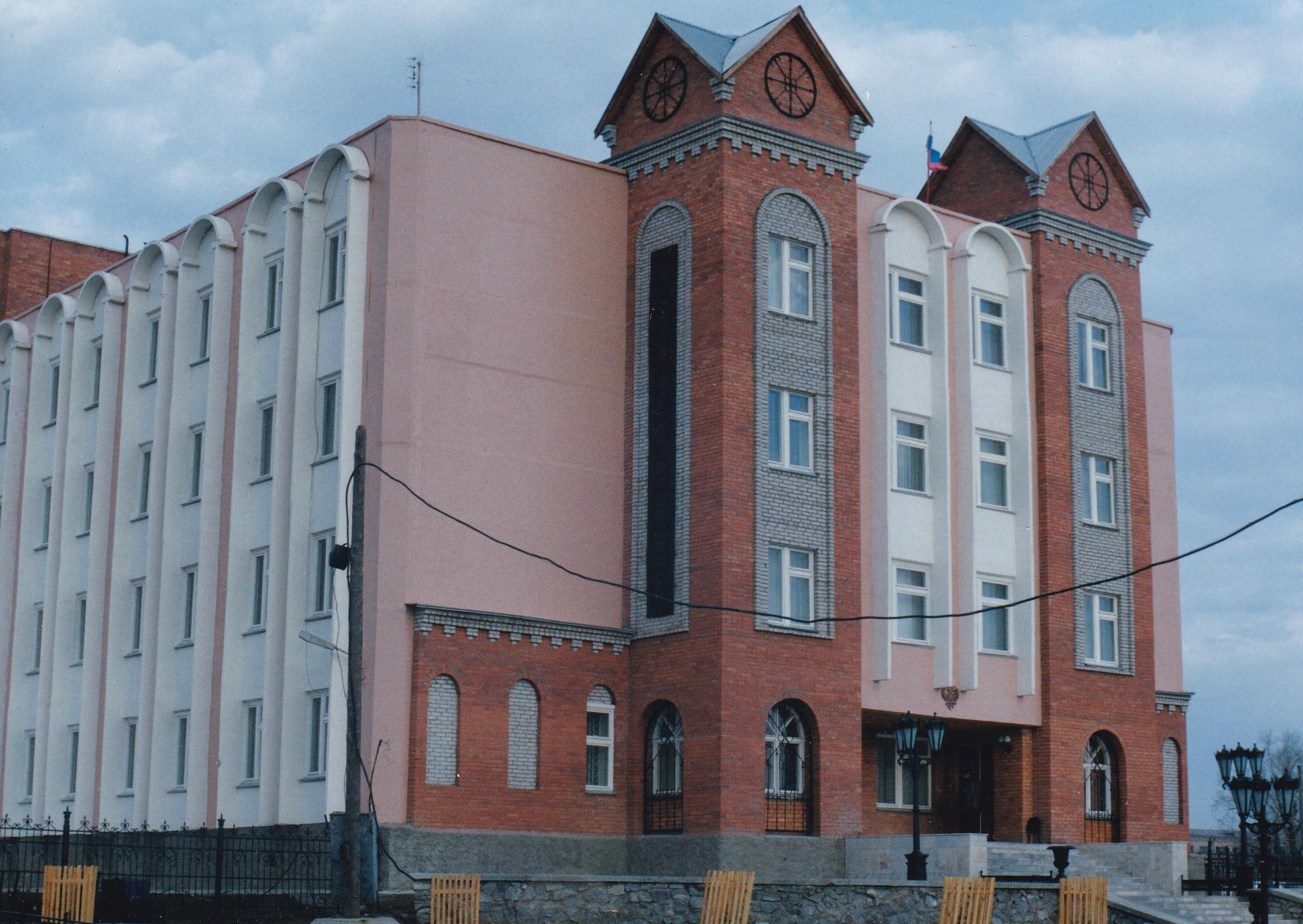Здание налоговой инспекции Фото 2000г.