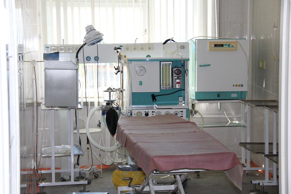 Хирургическая зона полностью готова для приема пациентов