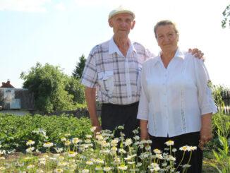 Борис Павлович и Мария Михайловна Дёгтевы. Июль 2020 г.