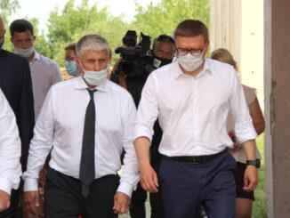 Игорь Колышев и Алексей Текслер