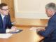 Алексей Текслер и Игорь Колышев. Фото из архива редакции