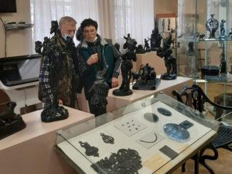 С экспозицией Каслинского музея художественного литья знакомятся гости города