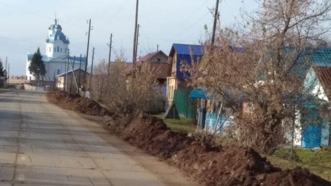 Улица Ленина, на которой был осуществлен ремонт водовода