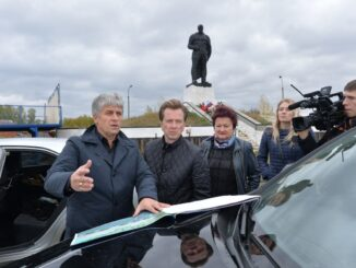 По инициативе депутата Госдумы Владимира Бурматова в сквере Воинской памяти в течение двух лет проводилась реконструкция, также был восстановлен Вечный огонь