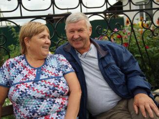 Вера Сергеевна и Владимир Геннадьевич Пидорские прожили вместе 43 года. Они счастливы, и это читается в их глазах!